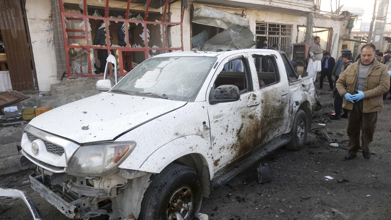 Kabul suicide attack kills at least one civilian