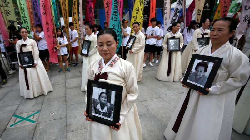 'Comfort women' get formal apology