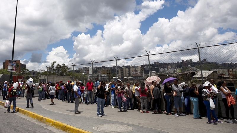 2015: Shortages cripple daily lives of Venezuelans
