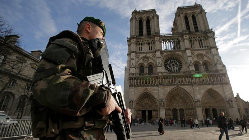 Security dominates Paris party plans