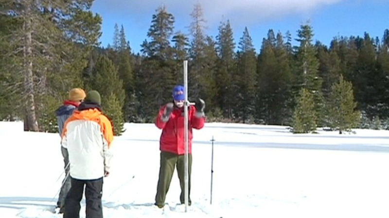Snow pack could quench California thirst
