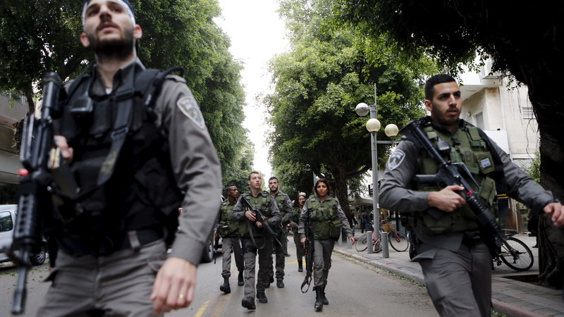Manhunt underway for Tel Aviv shooter
