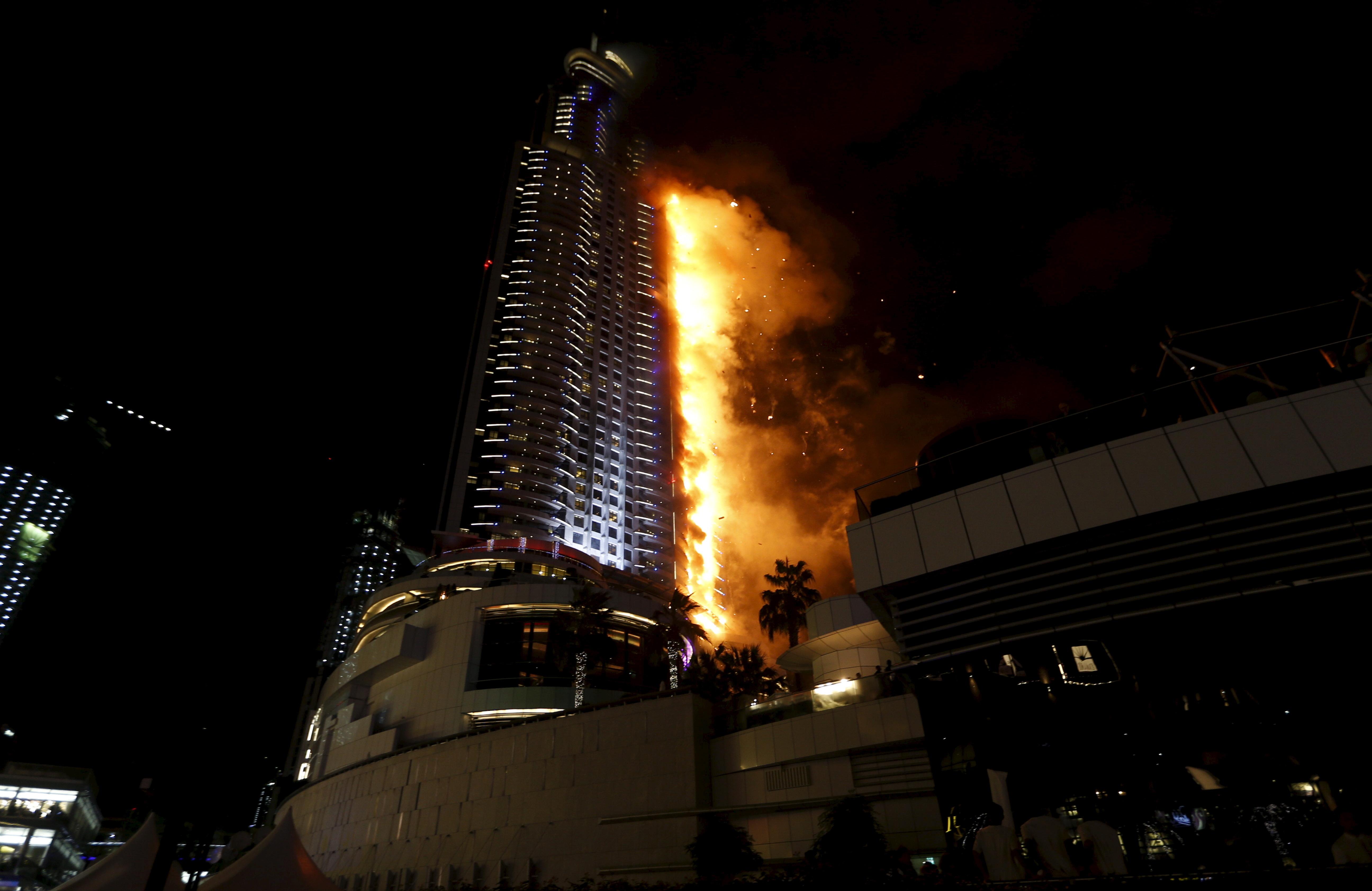 пожар в отеле дубаи Гостиничное хозяйство