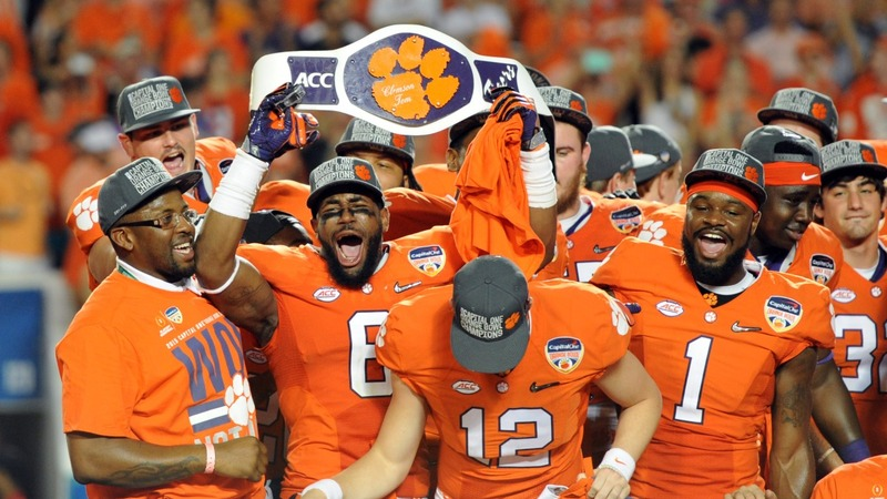 Clemson, Alabama to face off in NCAA title game