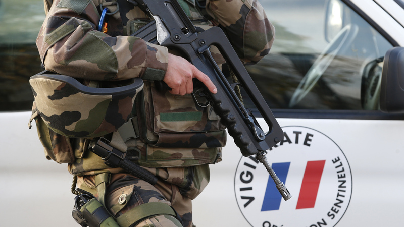 Driver targets French soldiers at mosque