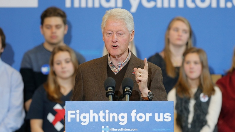 VERBATIM: Bill Clinton stumps for Hillary in New Hampshire