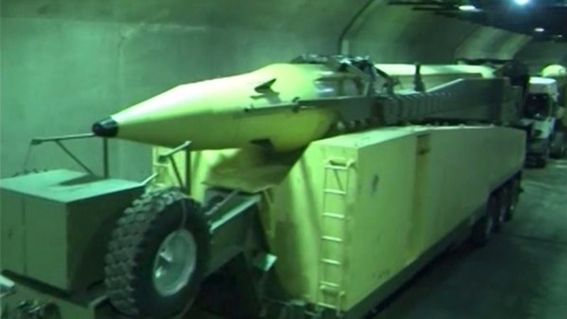Iran video shows new missile depot