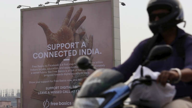 Facebook's 'free internet' under fire in India