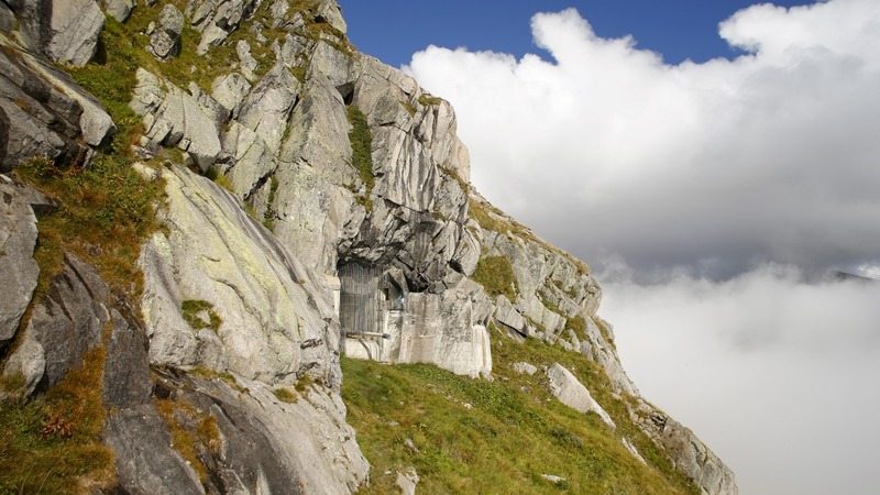 A room with no view: Recycled Swiss WW2 bunkers