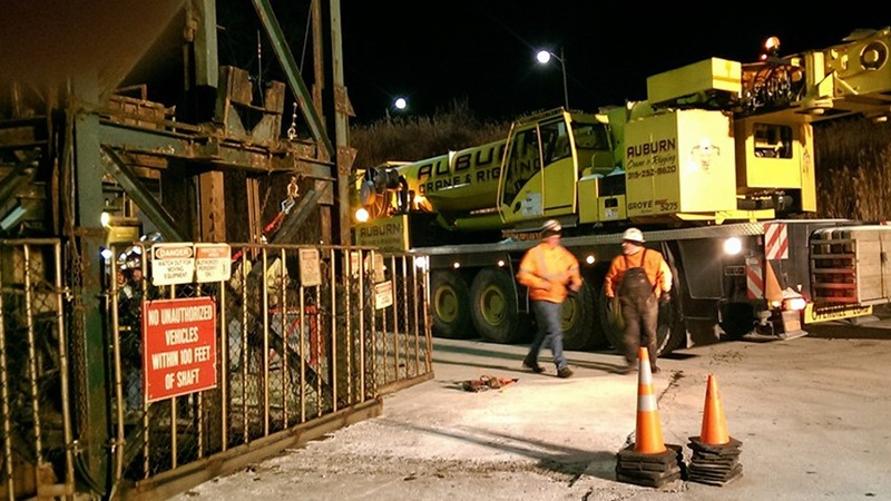 17 rescued from New York salt mine