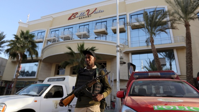 Knife attackers strike at Red Sea resort