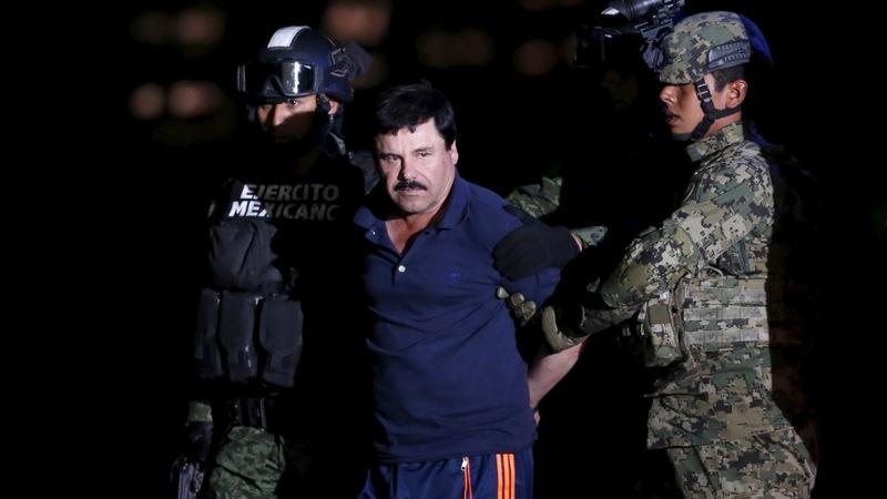 'El Chapo' could face U.S. prison after capture