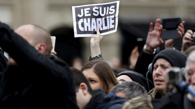 France pays tribute to Charlie Hebdo victims