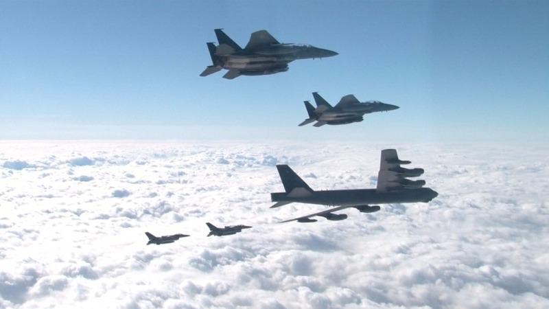 U.S. deploys B-52 to South Korea