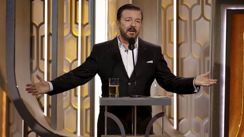 Shocks and squirms at the Golden Globes