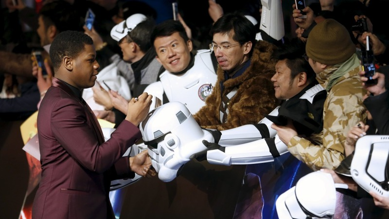 Star Wars breaks Chinese box office record