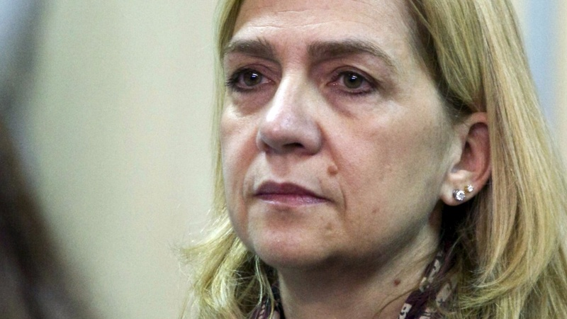 Spanish princess in court for tax fraud
