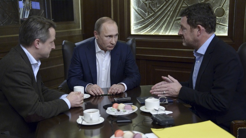 Putin wants global fight against terrorism