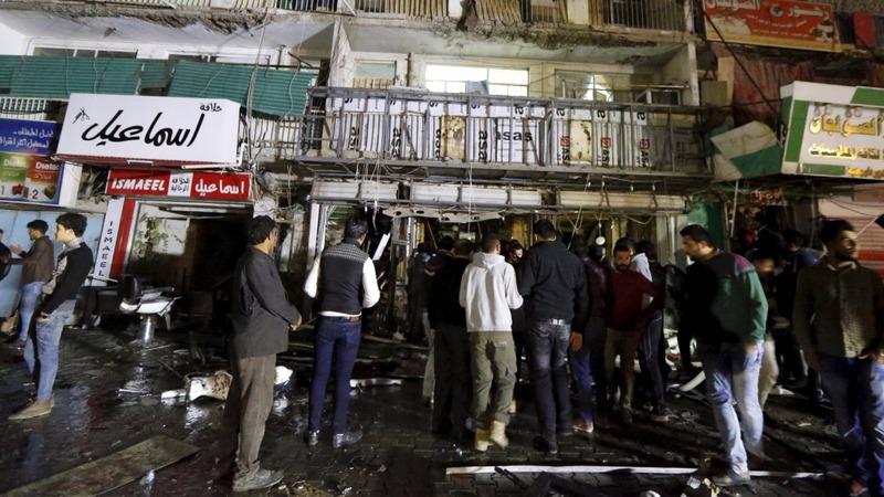 IS gunmen attack mall in Baghdad