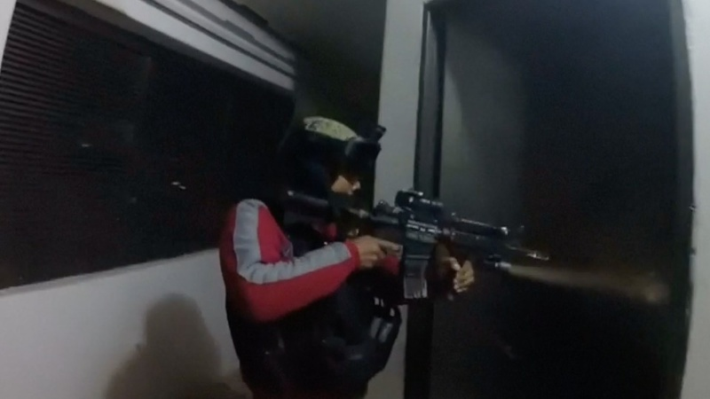 Dramatic footage of El Chapo raid released