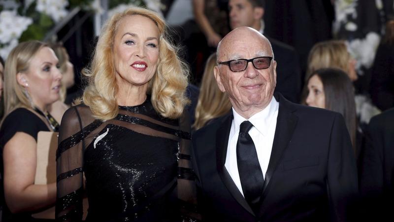 Media mogul Murdoch to wed Jerry Hall
