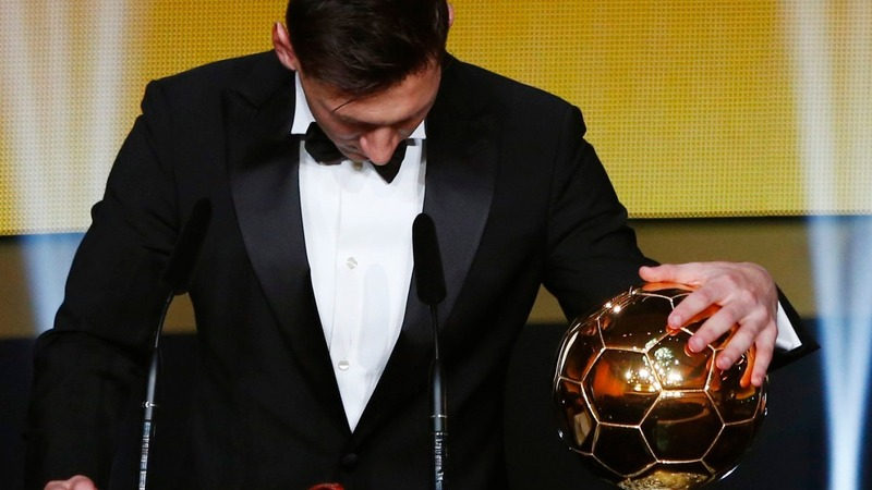 Messi gets his fifth Ballon d'Or award