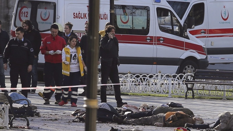 Turkey blames ISIS after suicide bomb kills tourists