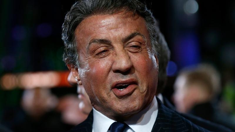 VERBATIM: Stallone 'old dog with new tricks'