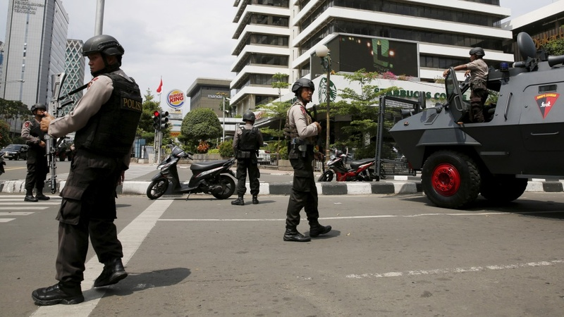 Islamic State militants attack Jakarta