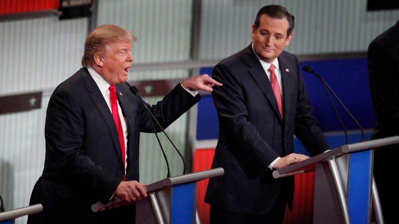 VERBATIM: Cruz and Trump go at it in Charleston