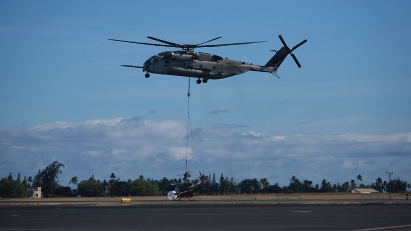 12 missing after Marine helicopters collide
