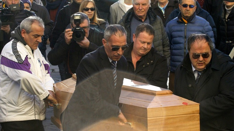 Funeral held for murdered US woman in Italy