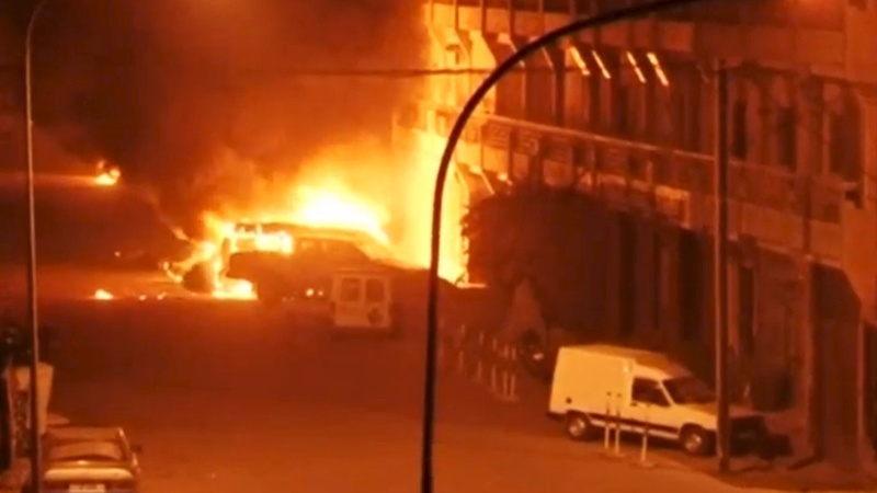 Al Qaeda kills foreigners at Burkina hotel
