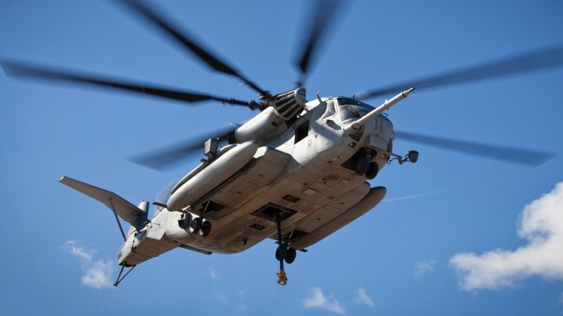 High waves hamper search for missing marines