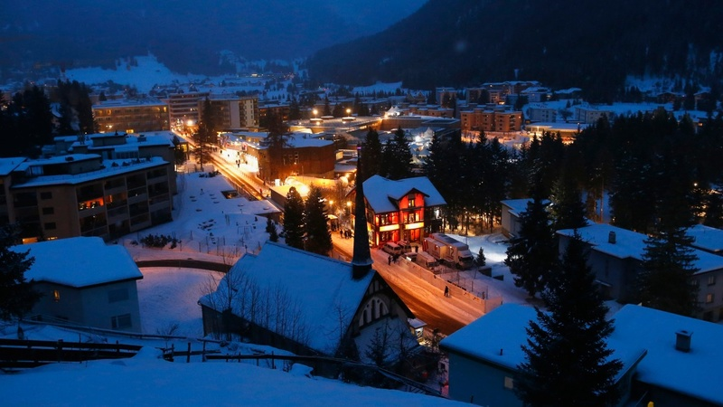 Inequality report casts shadow over Davos