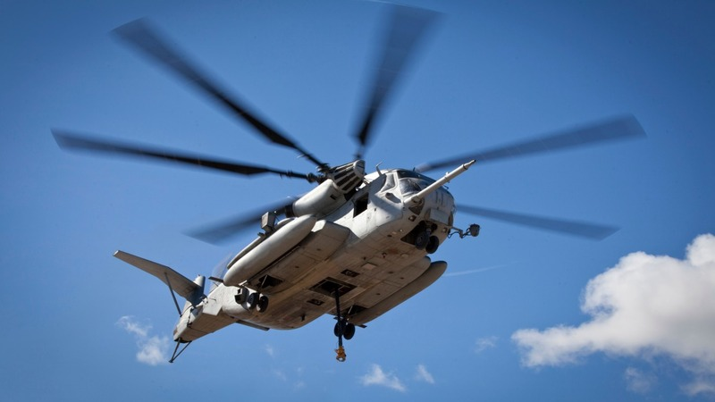 Search continues for missing Marines