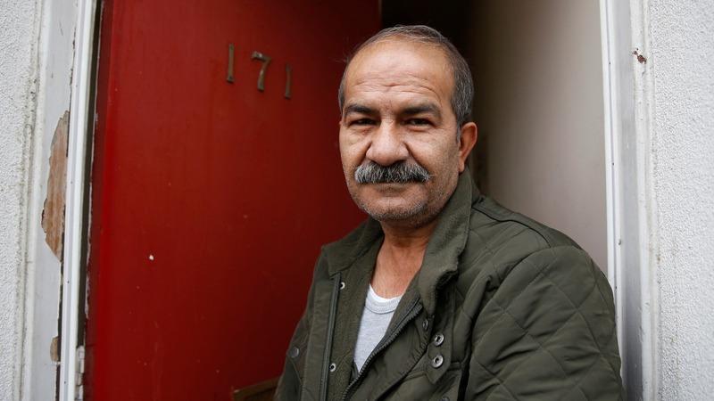 'Red doors' mark UK asylum seekers' houses