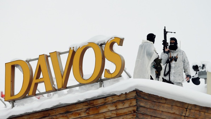 Davos attendees step into refugees' shoes