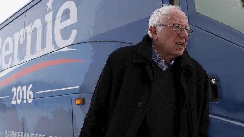Bernie hits the big time