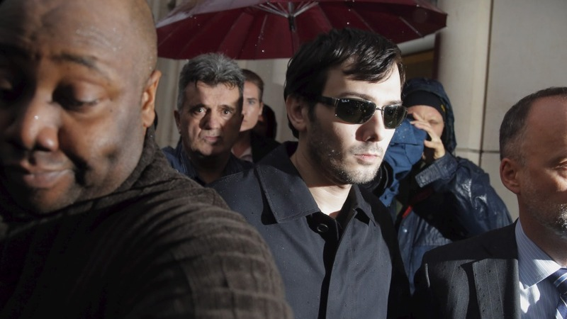 Shkreli thumbs his nose at Congress