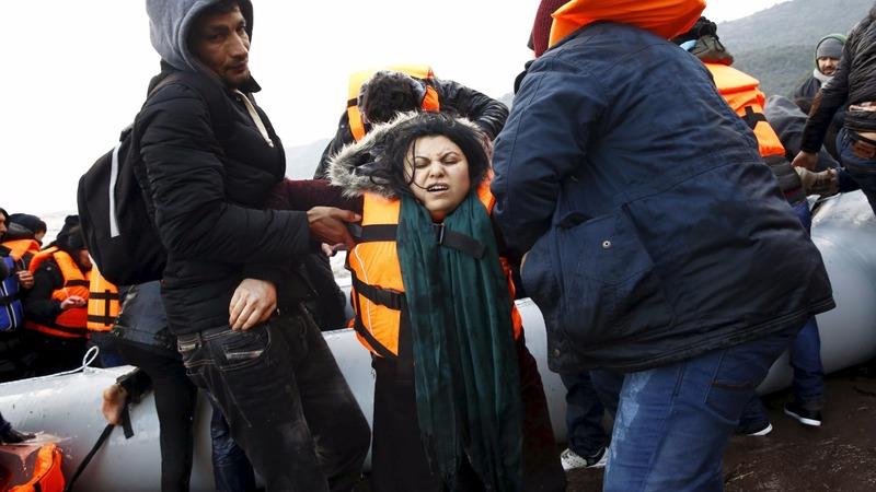 At least 42 migrants drown off Greek islands