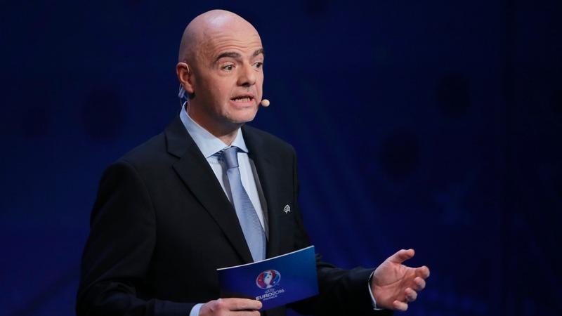 FIFA candidate Infantino gathers UEFA support