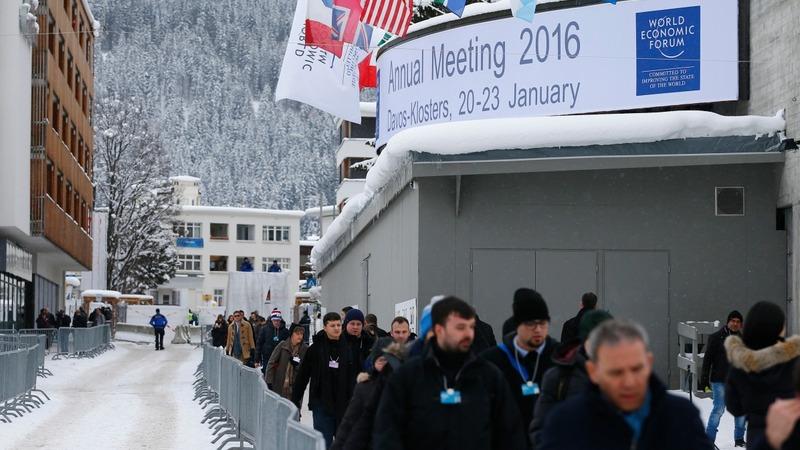 18% female attendees shows Davos' gender gap