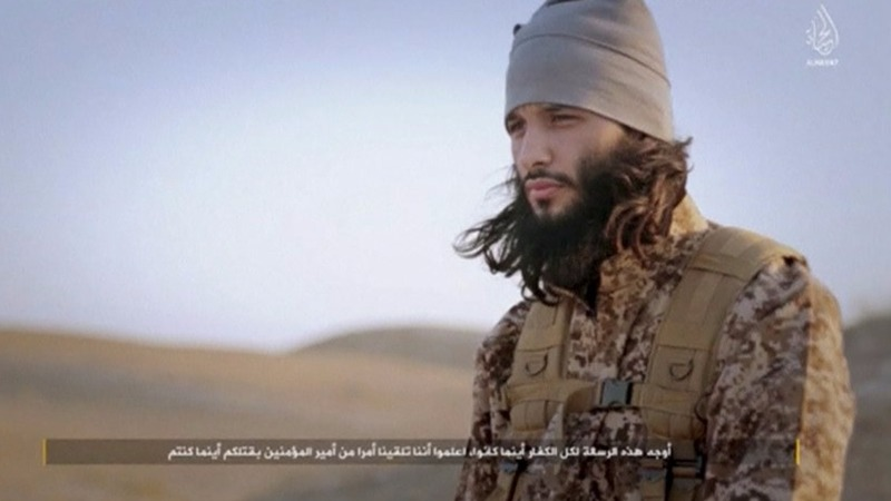 New ISIS video parades Paris attackers