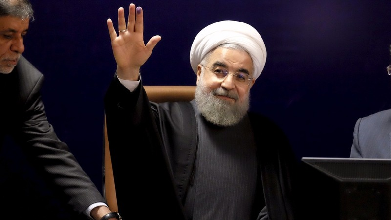 Rouhani begins historic visit to Europe