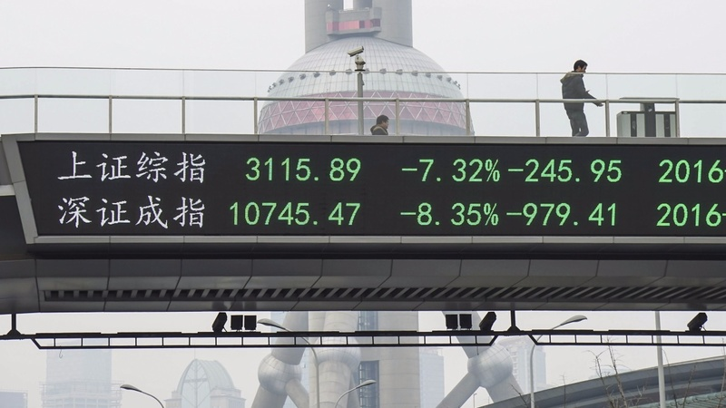 Jumpy investors send China shares spiralling
