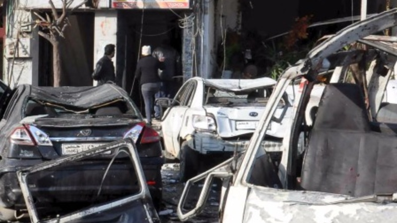 32 dead as twin bombs tear through Homs
