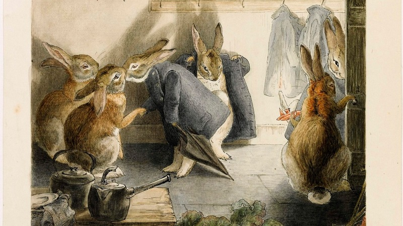Beatrix Potter story found after 100 years