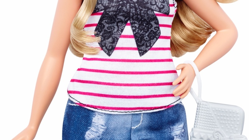 Barbie's hips widen to help fatten sales
