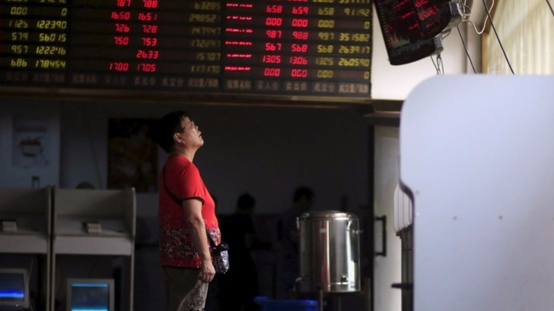 China's eerie silence as markets crumble